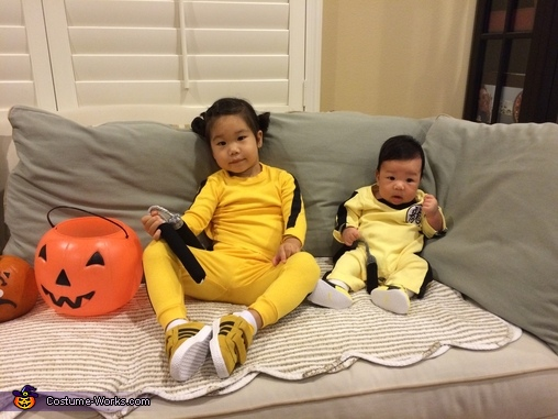 Put your dukes up!, Bruce Lee Baby Costume