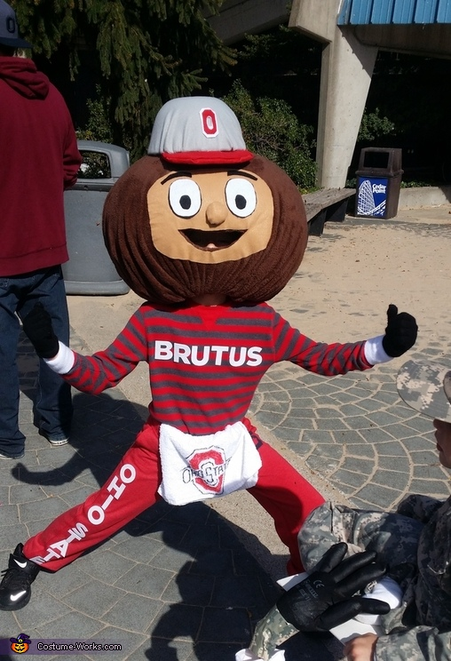 Brutus The Buckeye Costume