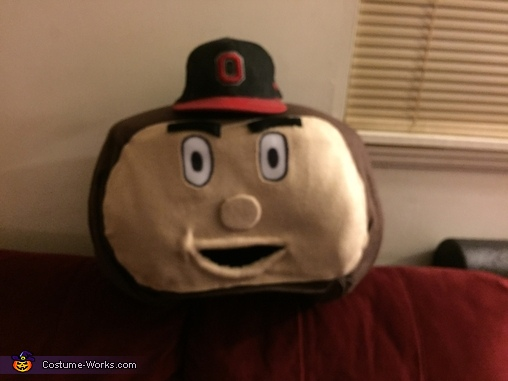 Brutus, Brutus the Buckeye Costume