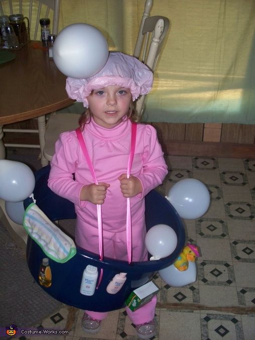 Bubble Bath Homemade Costume