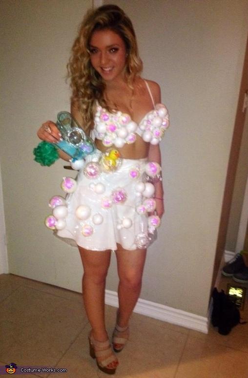 Bubble Bath Homemade Costume