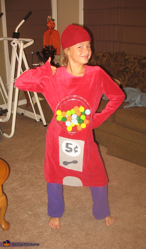 Bubble Gum Machine Costume