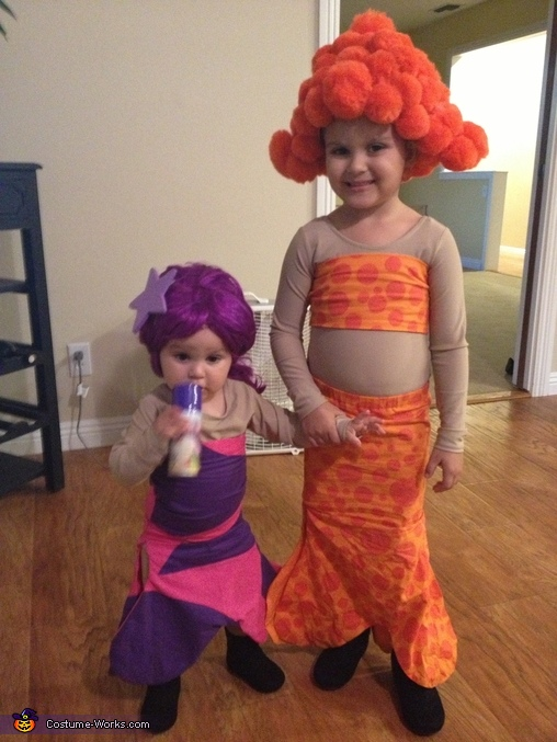 Bubble Guppies Deema and Oona Costume