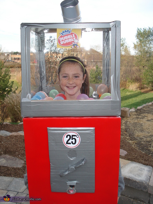 Bubblegum Machine Costume