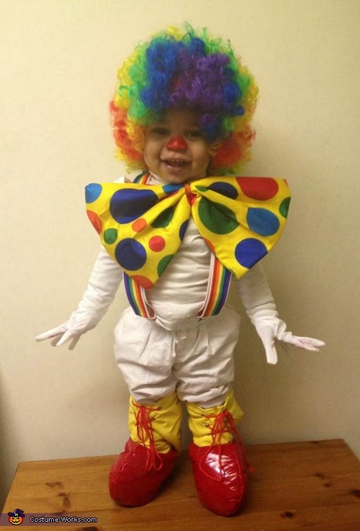 Bubbly Baby Clown Costume