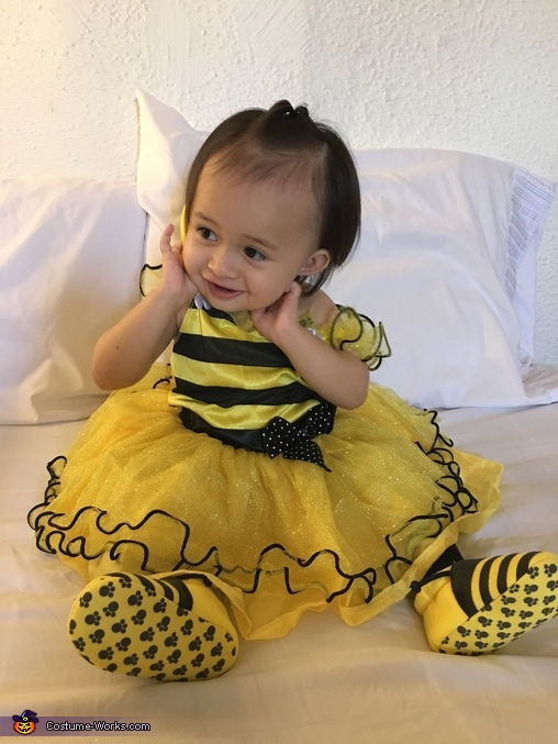 Little honey-bee, Bubbly Ella-bee Costume