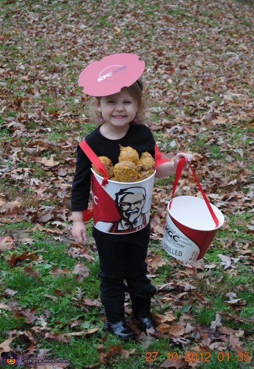Bucket of KFC Chicken Costume