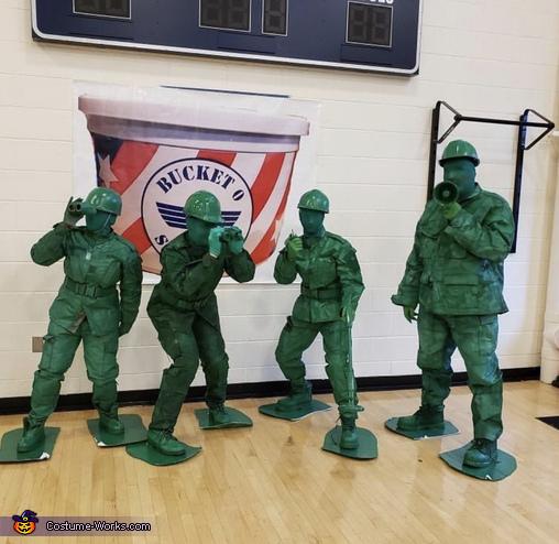 Bucket of Soldiers Costume