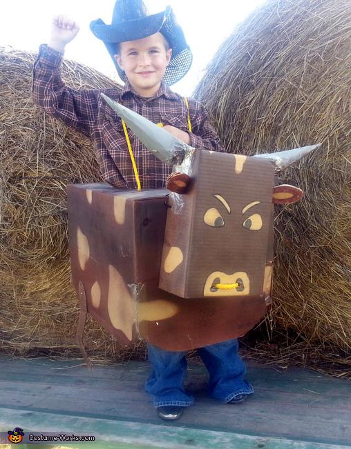 Bucking Bull Costume
