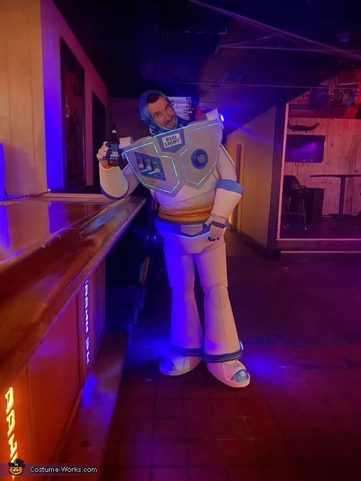 Bud Light-year Homemade Costume