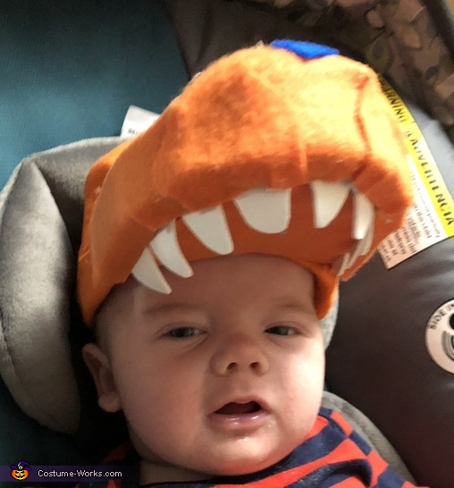 Teeth, Buddy the Baby T Rex from Dinosaur Train Costume