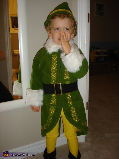 Buddy the Elf Costume - Homemade costumes for boys