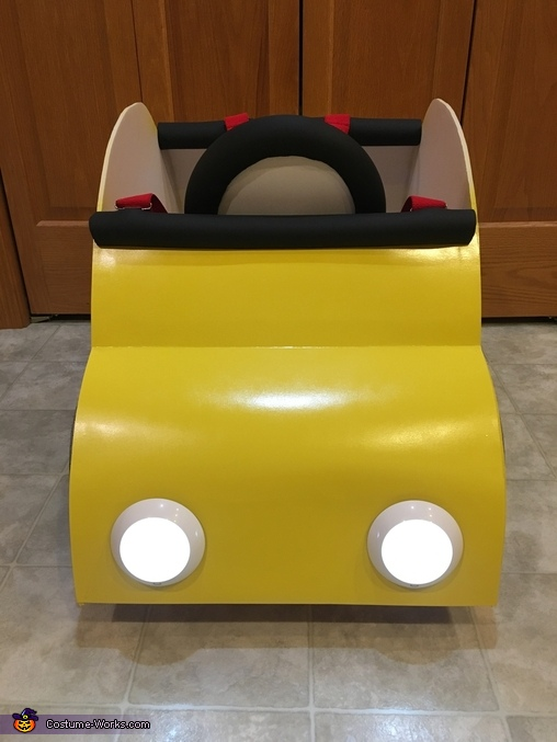 Front of car costume, Bug Car Taxi Costume