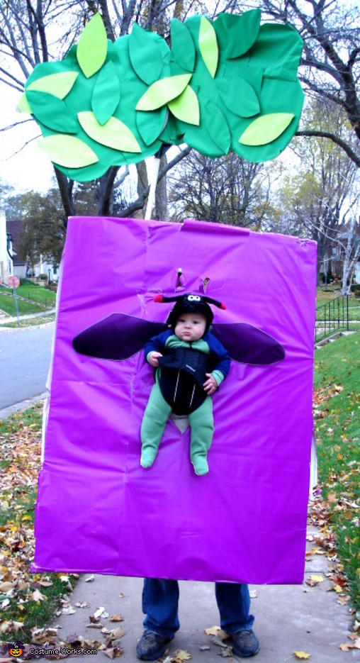 Emerald Ash Borer Bug - Homemade costumes for babies