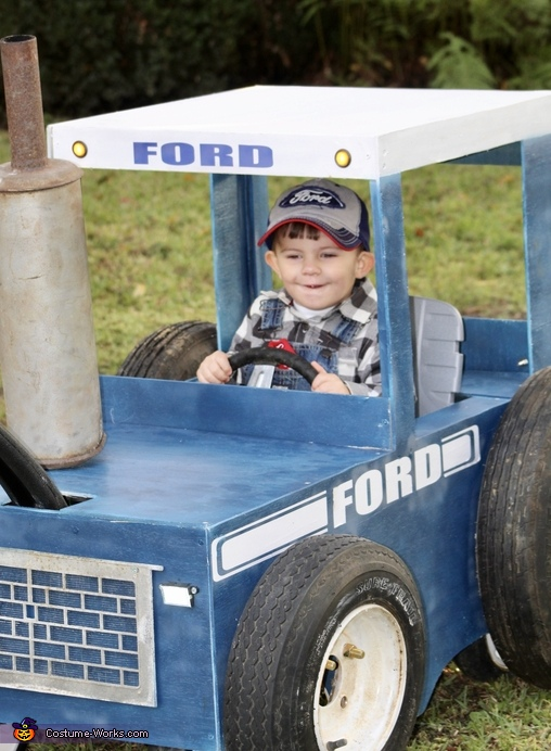 Built Ford Tough Costume