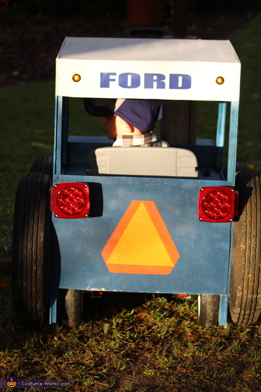 Built Ford Tough Homemade Costume