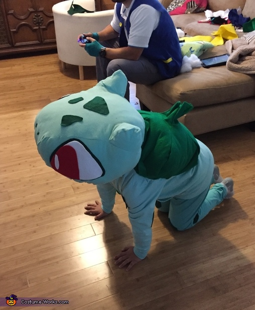 Bulbasaur from Pokémon Costume