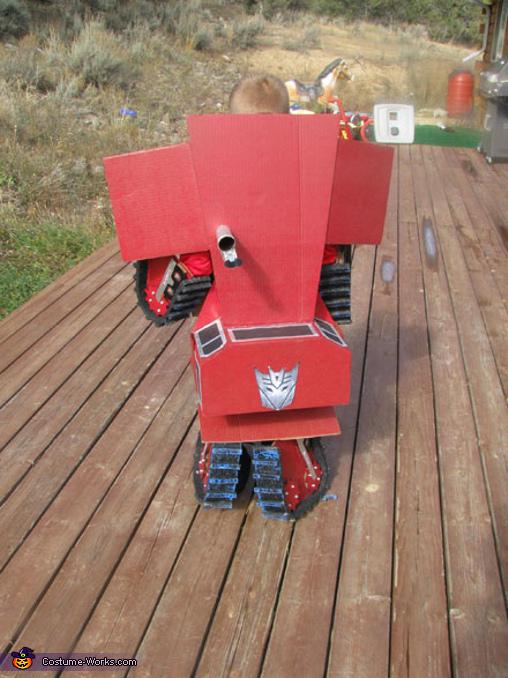 Bulldozer Rampage Costume