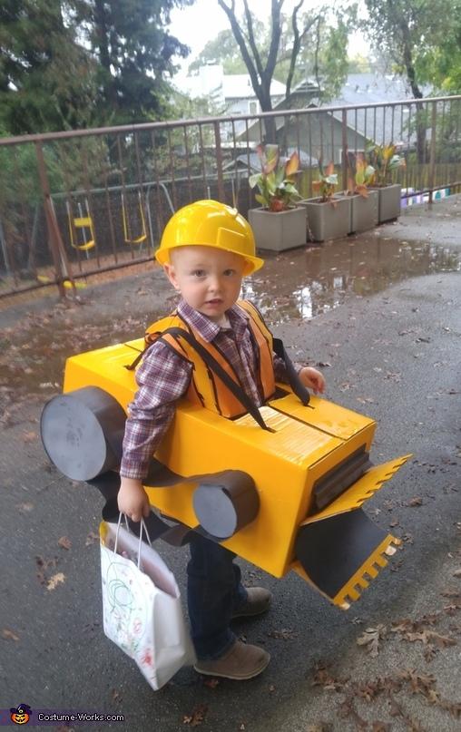 Bulldozer Costume