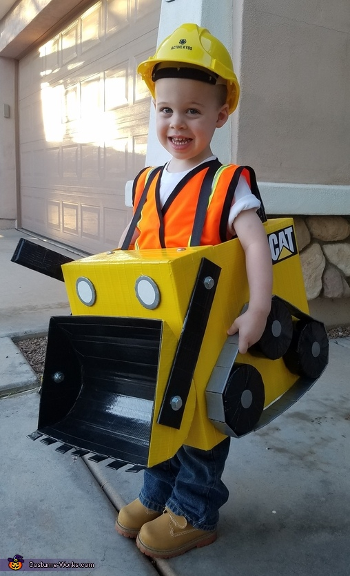 Bulldozer Homemade Costume