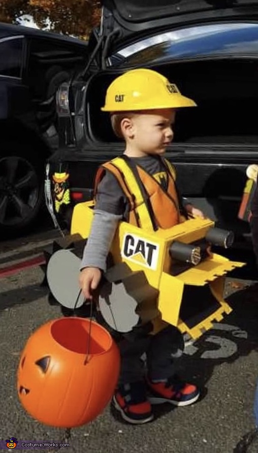 Bulldozer Costume