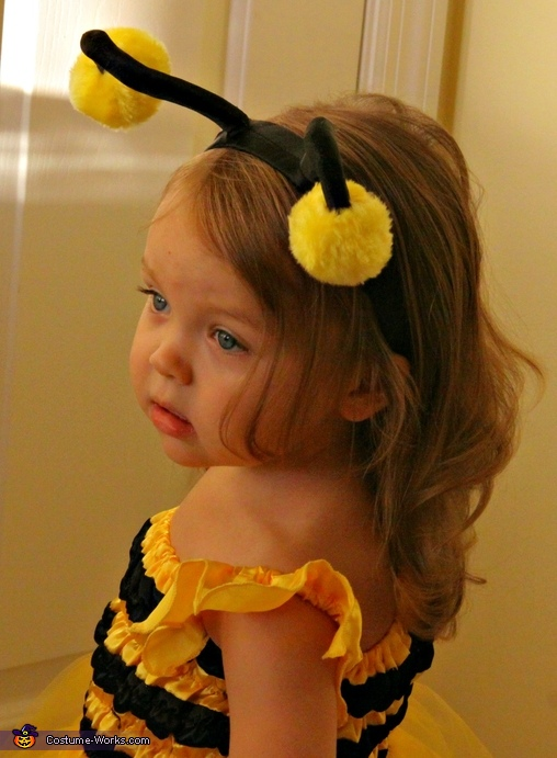 The buzz is...I am BEEautiful!!, BEEautiful! Bumble Bee Costume