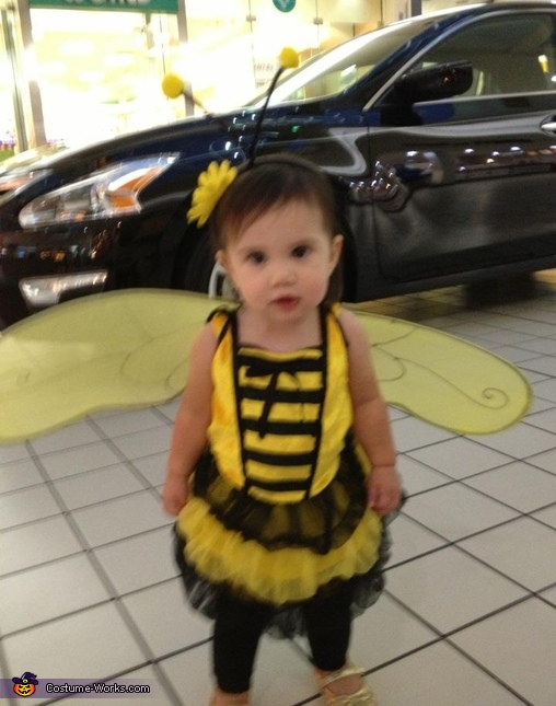 Bumble Bee Baby Costume