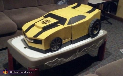 car mode, Bumble Bee Camaro Costume
