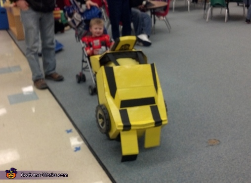 tranformation, Bumble Bee Camaro Costume