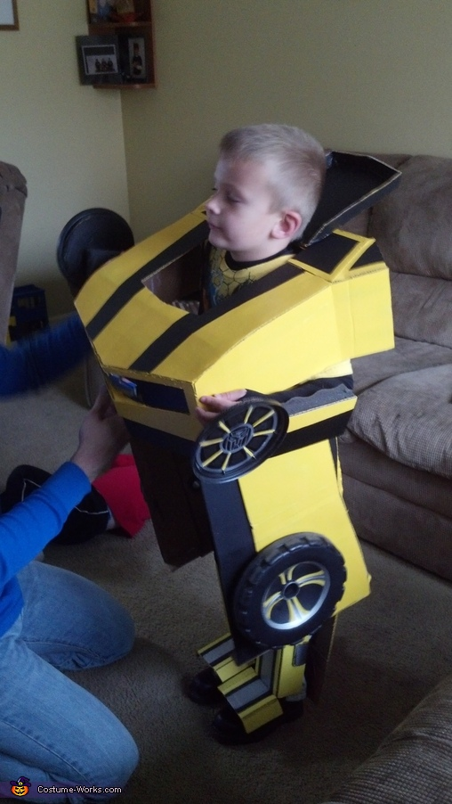 transformation, Bumble Bee Camaro Costume
