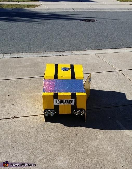 Bumble Bee Transformer Homemade Costume