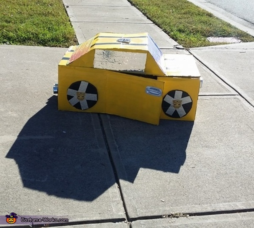 Bumble Bee Transformer Homemade Costume