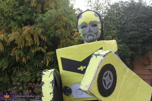 Bumblebee, Bumblebee Transformer Costume