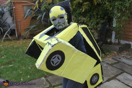 Transforming, Bumblebee Transformer Costume