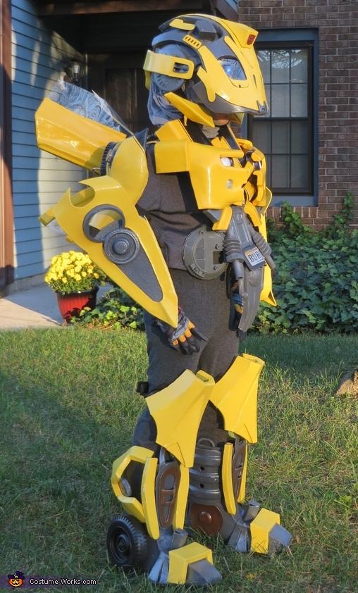 Bumblebee Back View, Bumblebee Costume