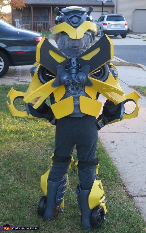 Bumblebee Side View, Bumblebee Costume