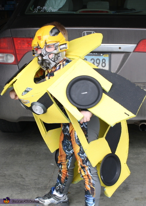 Bumblebee - Homemade costumes for boys