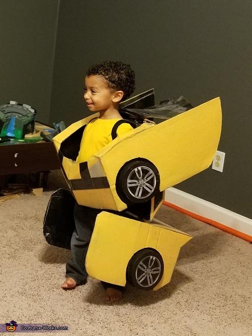 Bumblebee Homemade Costume