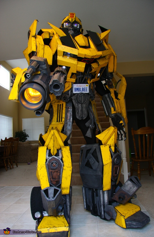 Bumble Bee Transformer Costume Bumblebee Transformers...