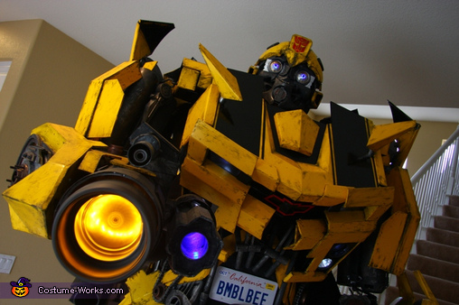 Cannon spinning., Bumblebee Costume