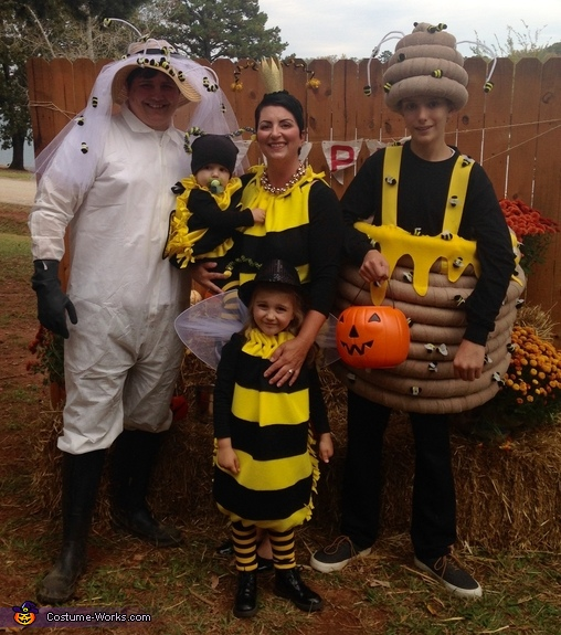 Bumblebee Family Costume