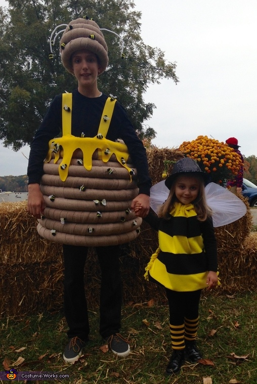 Beehive Costume, Bumblebee Family Costume
