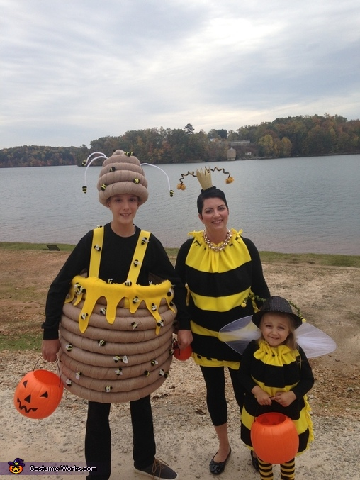 Bumblebee Family Homemade Costume