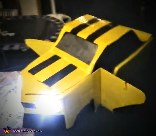 Transformed into Car!, Bumblebee Transformer Costume