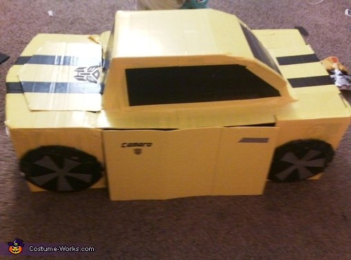 Boy's Bumblebee Transformer Costume