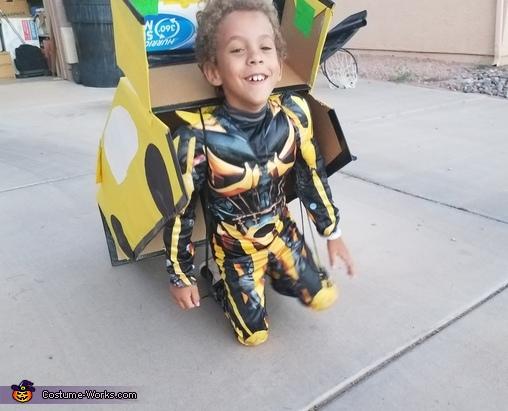 Bumblebee Transformer Homemade Costume