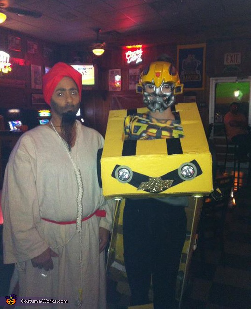 Bumblebee Transformer Adult Costume