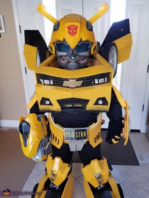 Bumblebee Transformer Boy Homemade Costume