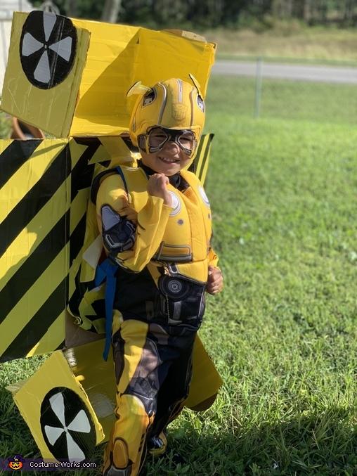 Bumblebee Transformers Homemade Costume