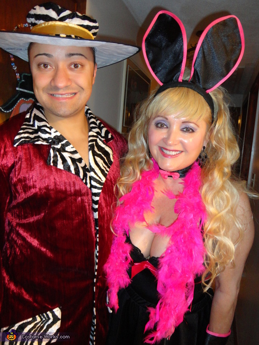 Bunny and the Pimp Couples Costume